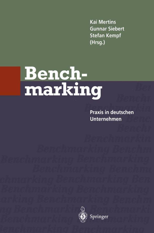 Benchmarking - Praxis in deutschen Unternehmen