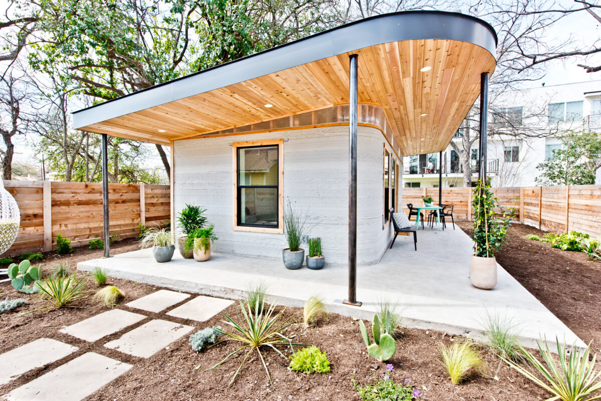 3-D-Drucker Tiny House