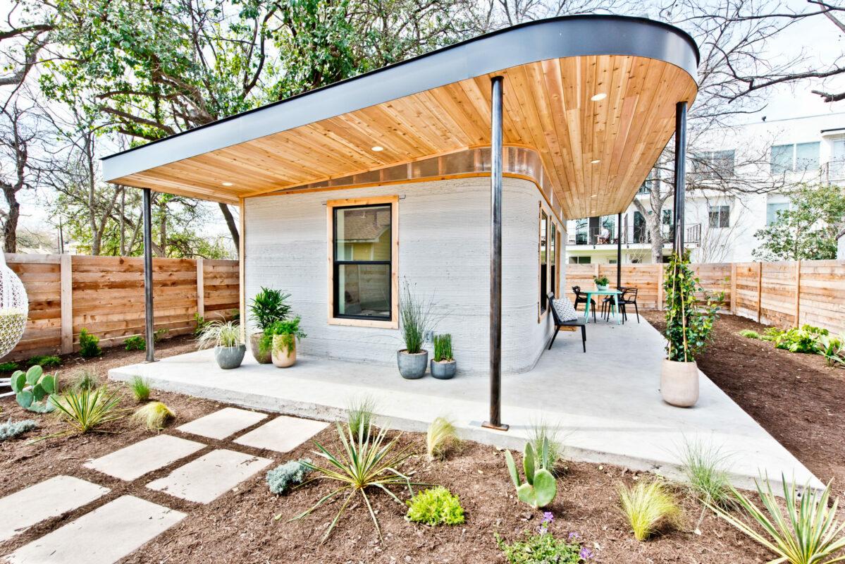 3-D-Drucker Tiny House